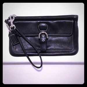 Authentic Small Coach Wristlet