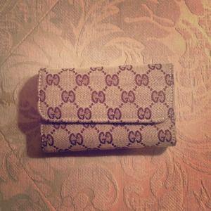 Gucci wallet!
