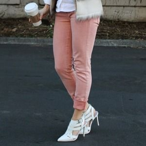 Big Star Denim - Blush Pink Jeans