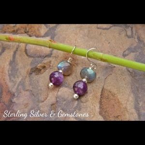 Jewelry - Sterling Silver, Amethyst and Labradorite