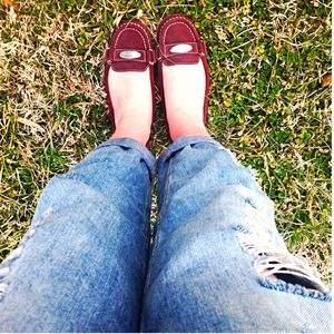 MICHAEL Michael Kors Shoes - Michael Kors Oxblood Loafers