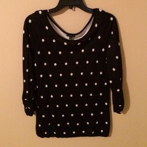 Polka Dot Express Sweater