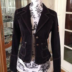 Brand New w/Tag Black Street Blazer