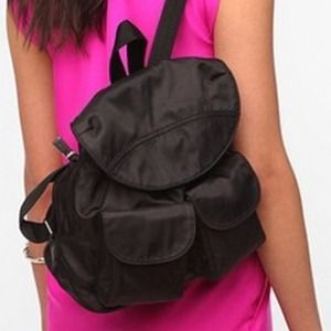 Urban Outfitters Handbags - New black cute mini backpack