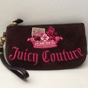 Juicy Couture Wrislet - dark chocolate