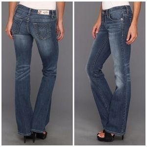 NWT MEK Denim Boot Cut Kansas Jeans 25