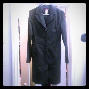 Long Dark Grey Coat