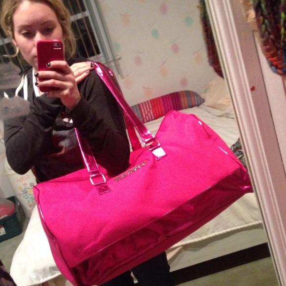 67% off Victoria's Secret Handbags - KEEPING 💗 VS Large Pink ...