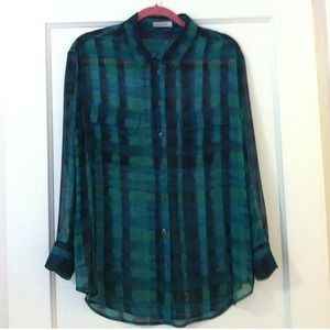 equipment Tops - Equipment Silk Blouse