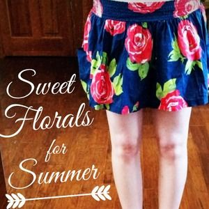 Abercrombie & Fitch Dresses & Skirts - Abercrombie Floral Skirt