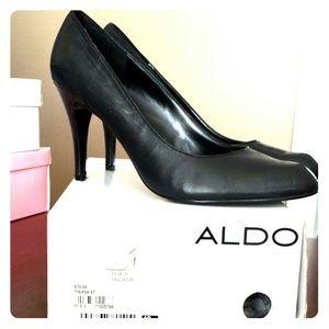 BLACK Size 40 (US 10) ALDO HIGH HEELS