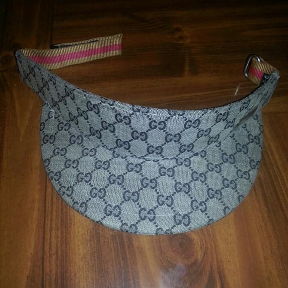 397888d061e Gucci Accessories - Gucci Visor Hat