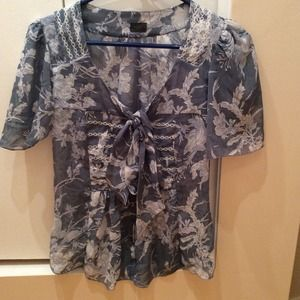 New Benetton cute blouse shirt