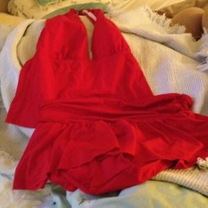 Ralph Lauren Outerwear - Red two piece bathing suite