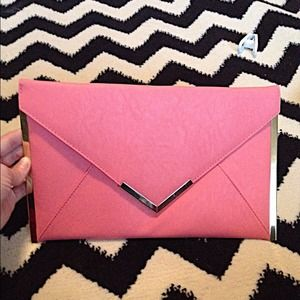 ASOS Handbags - Asos rose colored clutch.