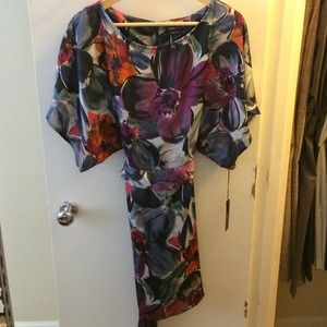 NWT BCBG Max Azria Floral Dress