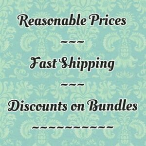 Reasonable Prices, Fast Shipping, and Discounts