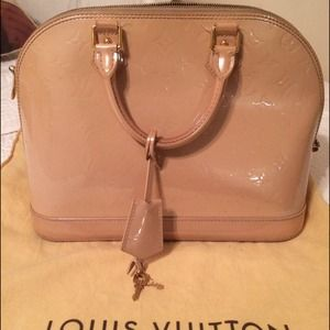 Light Pink Limited Edition Alma LV Bag