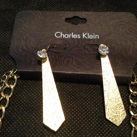 51 off charles klein jewelry statement necklace from