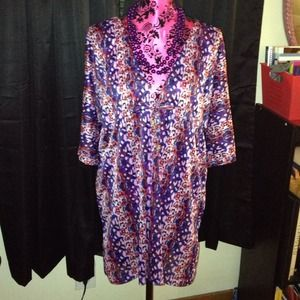 Baby Phat sheer top cover up sz L