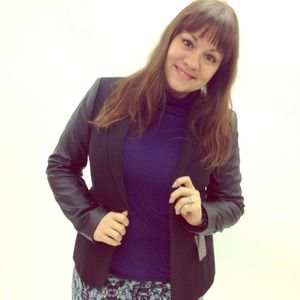 Zara Jackets & Blazers - Zara Mixed Media Blazer