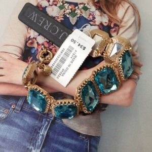 J. Crew Jewelry - ⏰48 HR Sale - J.Crew CRYSTAL PILLOW BRACELET