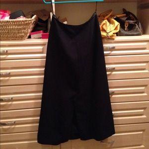 GAP Dresses & Skirts - 💋SOLD💋GAP black skirt