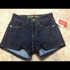 Guess Denim - GUESS Premium Denim High Waisted Shorts