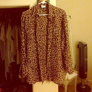 Leopard cover up