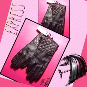 Express Accessories - 🆕Express Leather Gloves