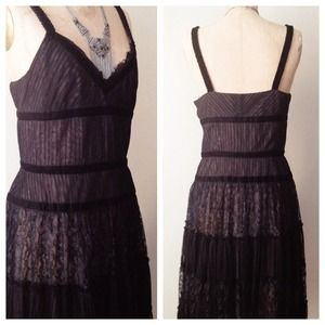 ✨NEWLY LISTED✨ Eliza J Lace Empire Waist Dress