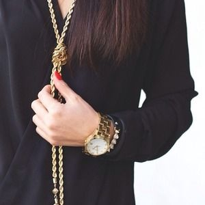 Jewelry - NEW Double Tassel Necklace