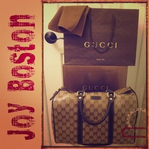 Gucci Crystal Joy Boston Bag