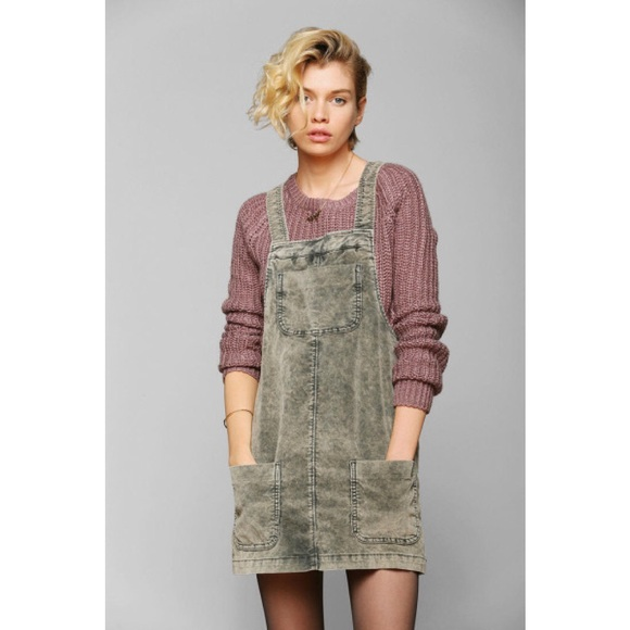 1a2c112bba BDG distressed corduroy overall dress (never worn).  M 54decaa299086a2fcd00ae75