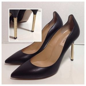 Valentino Extreme Heel Rockstud Pumps IT39.5