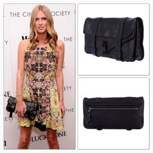 Proenza Schouler Clutches & Wallets - Proenza Schouler PS1 Pochette Clutch Black HW
