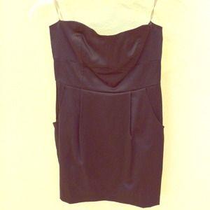Tube Top Dress w/ Pockets