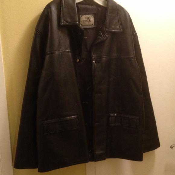 ada557c30659 Armani Collezioni Jackets & Coats | Leather Jacket | Poshmark