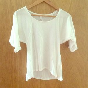 Ambiance Apparel Tops - NEW ✨White shirt