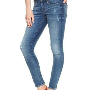 1969 Always Skinny Destructed Jean