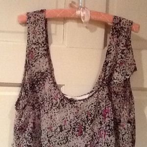 BCBGeneration tank top polyester size small