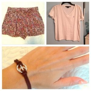 Other - Shirt, Shorts and Bracelet Bundle