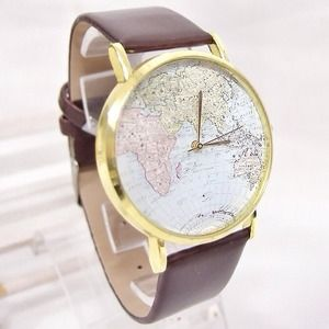 Accessories - 🎉SALE🎉Around The World Map Watch