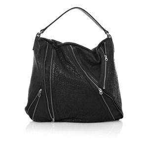 Marc by Marc Jacobs Flash Leola Zip Hobo in Black