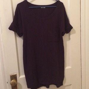 Madewell Sweaters - Madewell purple sweater dress