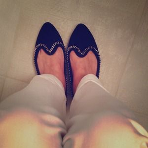 Shoemint Shoes - Shoemint suede loafers!