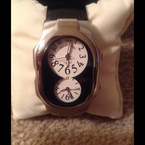 PHILIP STEIN TESLAR WATCH❤️❤️great for travel./RED
