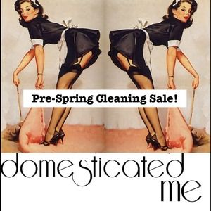 DomesticatedMe.com's Pre-Spring Cleaning Sale!
