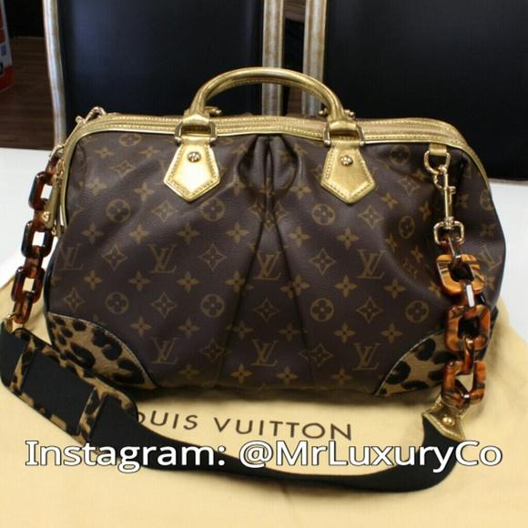 Louis Vuitton Bags   Special Edition Stephen Leopard Gm   Poshmark 74eabe6cbb
