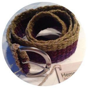 Accessories - Colorful Hemp Belt